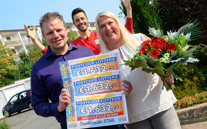 Postcode Lotterie Gewinne